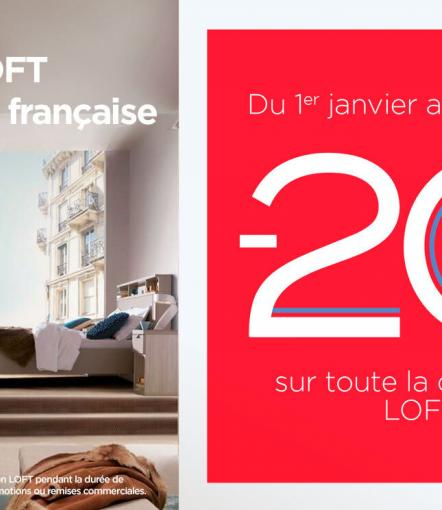 banniere promo loft page collection