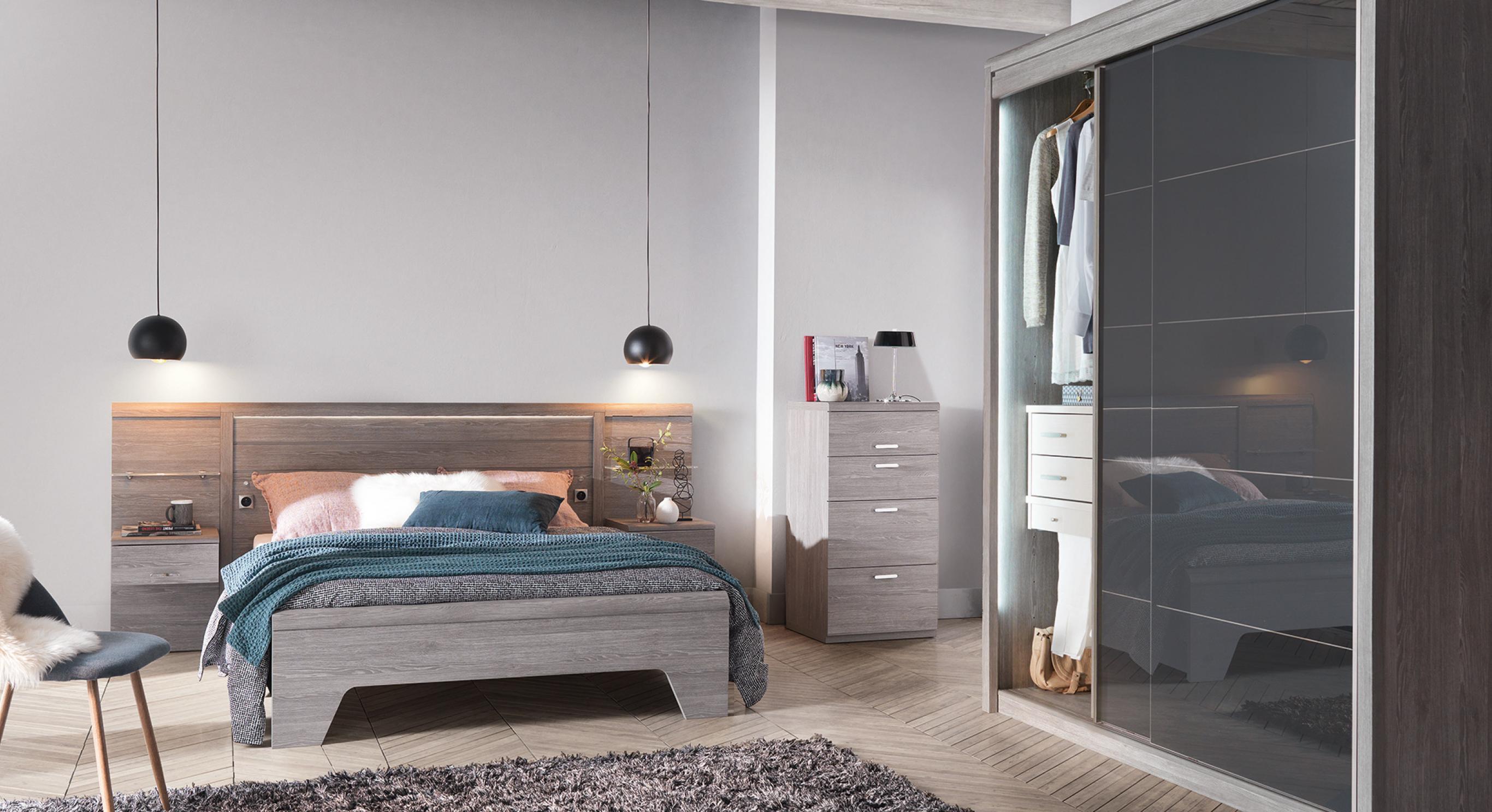 Porte En Tete De Lit collection multy, génie du rangement | meubles celio