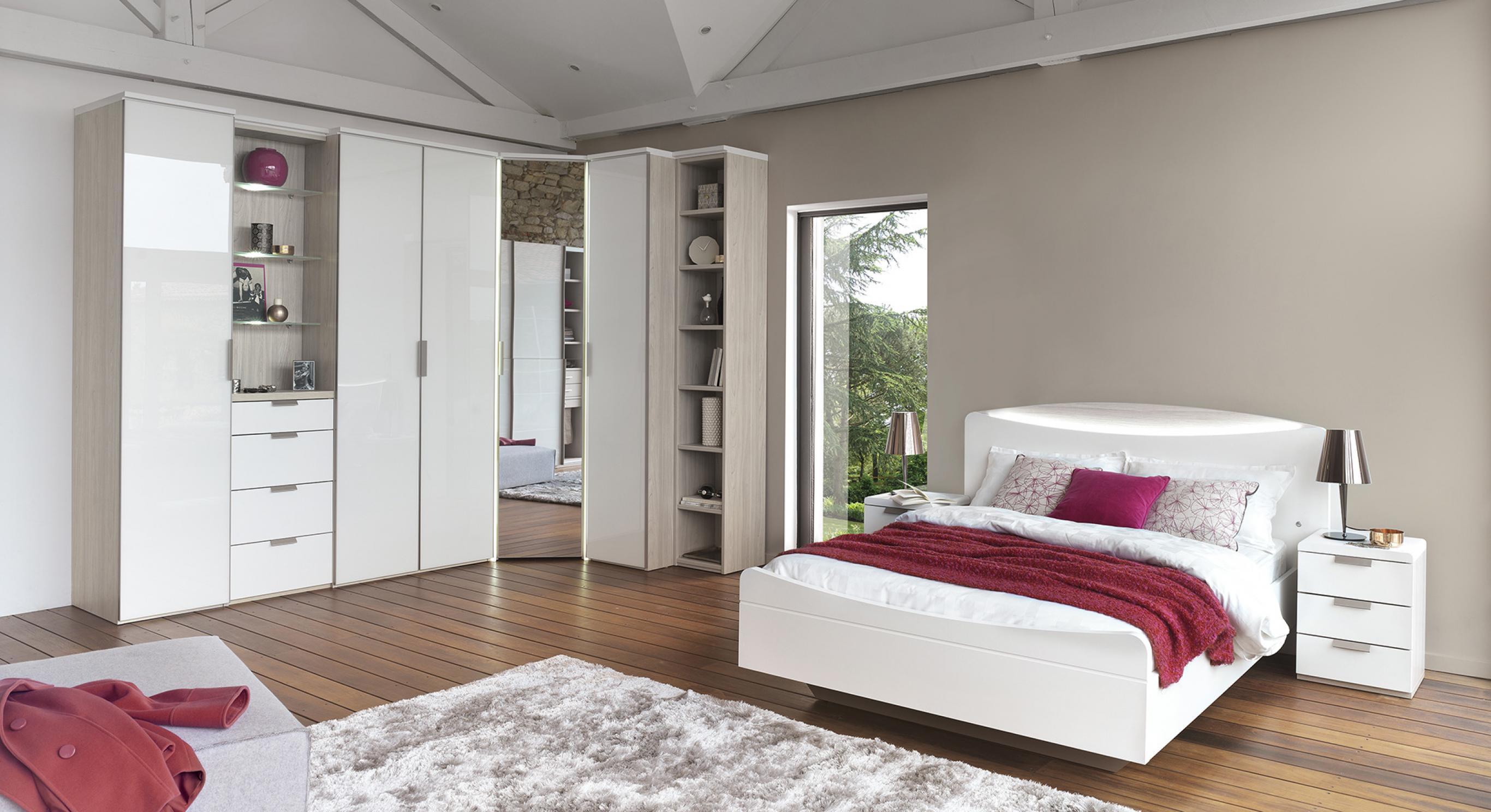 Armoire De Chambre Avec Penderie collection loft, proche du sur-mesure | meubles celio