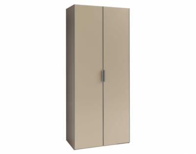 Armoire portes battantes verre laqué - 1
