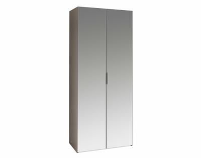 Armoire portes battantes miroirs - 1