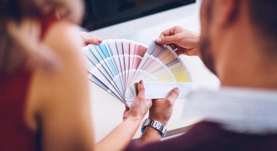 Panel de couleur