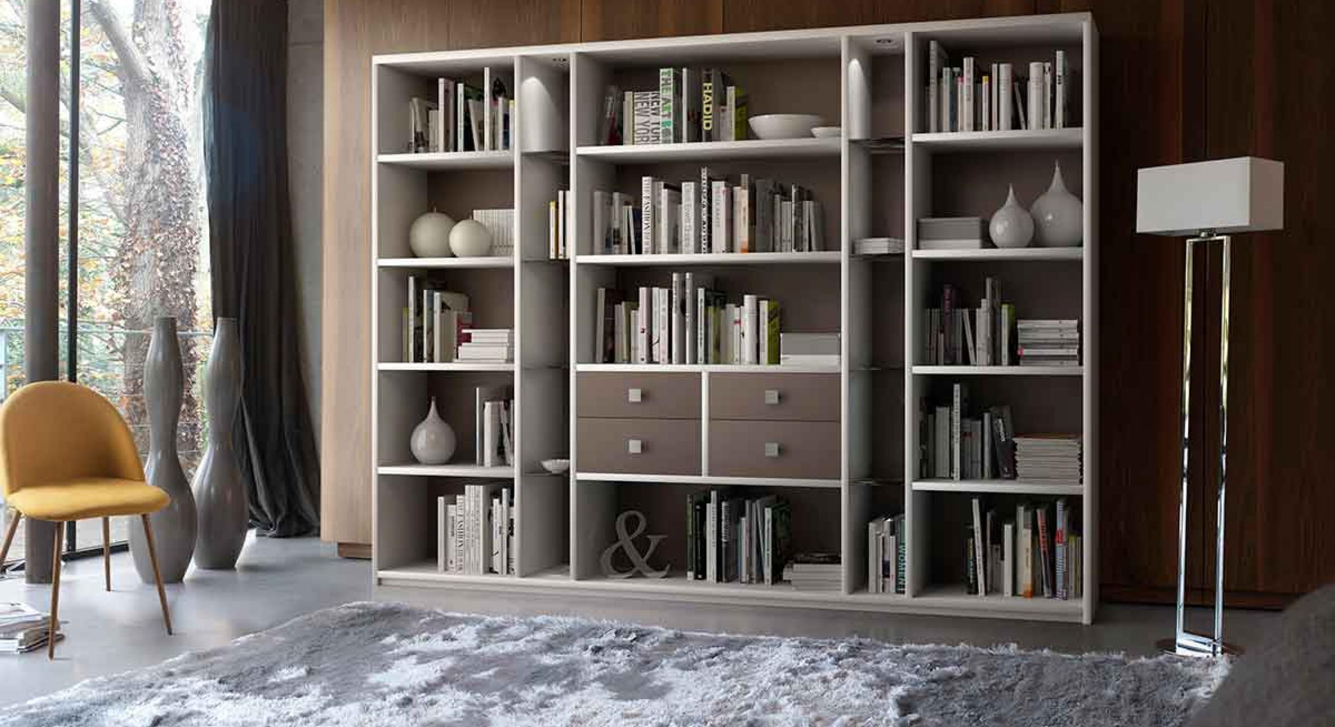 Meuble Tv Bibliothèque Blanc bibliothèques sur-mesure | meubles celio, fabricant français