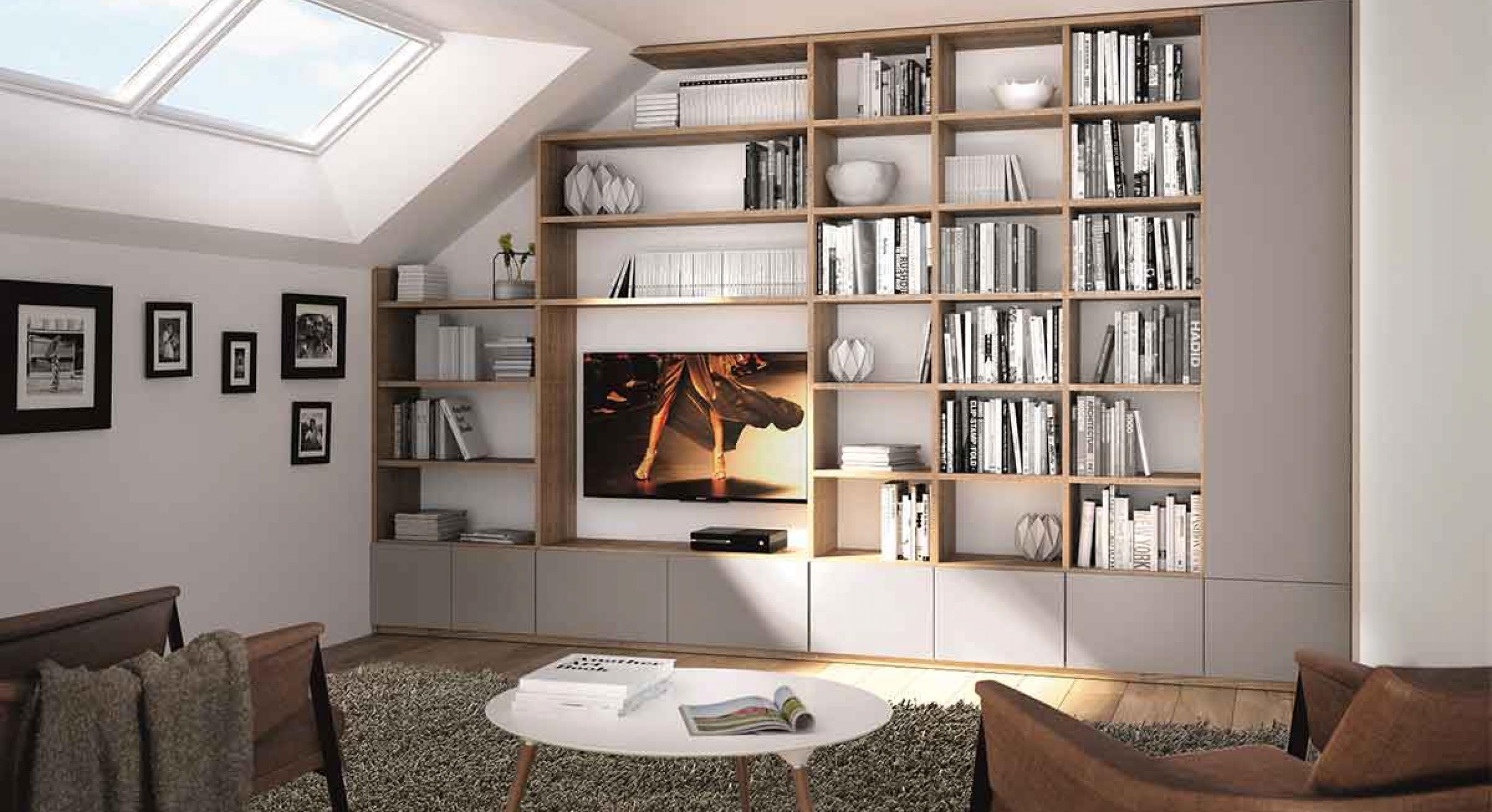 Coût Bibliothèque Sur Mesure bibliothèques sur-mesure | meubles celio, fabricant français