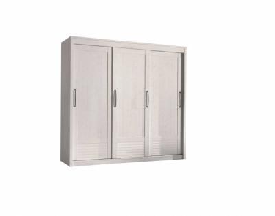 19h10 - Armoire 3 portes coulissantes bois - 1