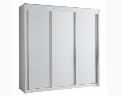17H6 - Armoire 3 portes coulissantes bois - 1