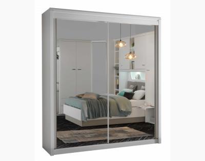 17H2 - Armoire 2 portes coulissantes miroirs - 1