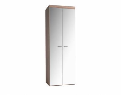 17h16 - Armoire portes battantes miroirs - 1