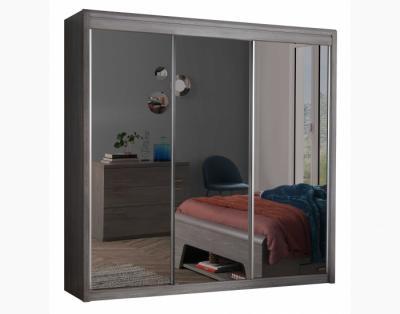 17H8 - Armoire 3 portes coulissantes miroirs - 1