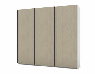 21H200 - Armoire 3 portes coulissantes bois  - 1
