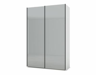 21H23 - Armoire 2 portes coulissantes verre laqué   - 1