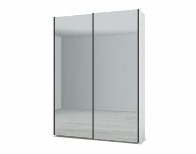 21H21 - Armoire 2 portes coulissantes miroirs - 1