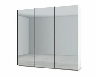 21H211 - Armoire 3 portes coulissantes miroirs - 1