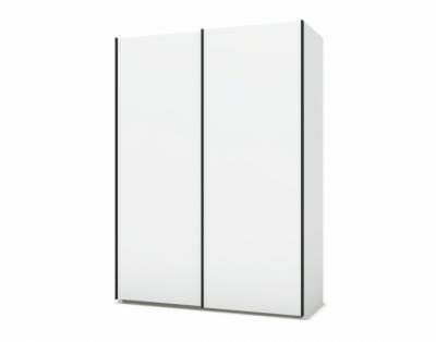 21H20 - Armoire 2 portes coulissantes bois  - 1