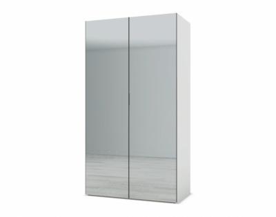 21H5 - Armoire 2 portes battantes miroirs sans tiroir - 1