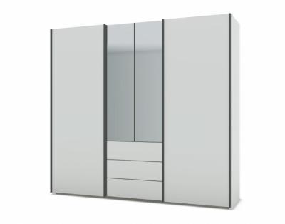 21H25 - Armoire mixte portes bois  - 1