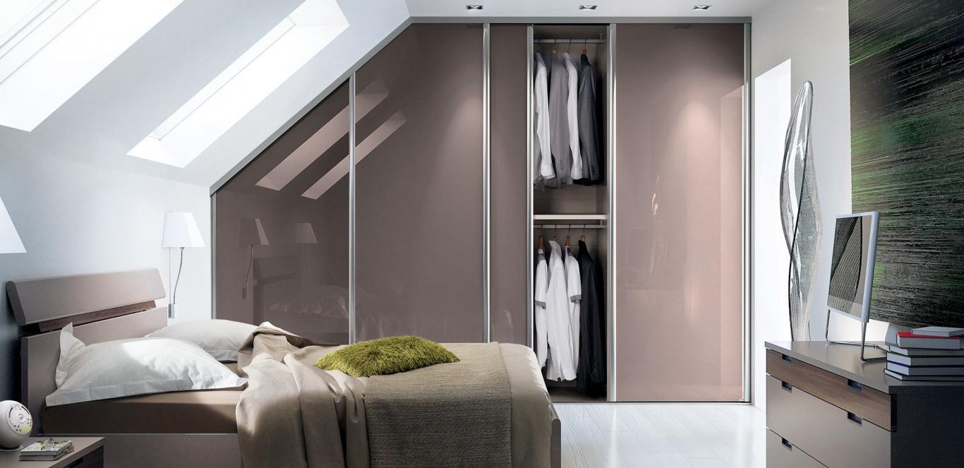 armoire sur mesure sous pente