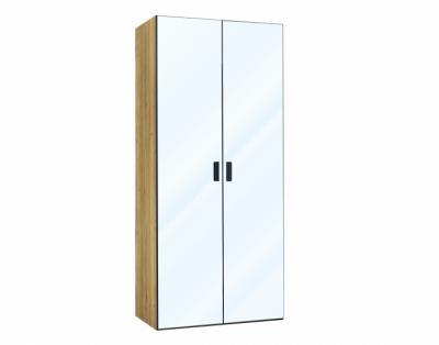 24B04 - Armoire 2 portes battantes miroir - 1