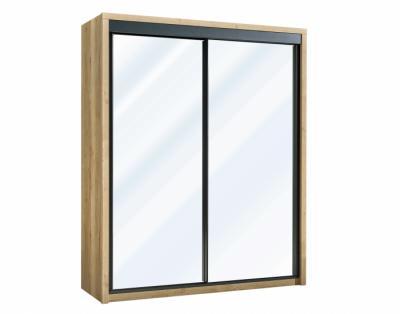 24B06 - Armoire 2 portes coulissantes miroir - 1