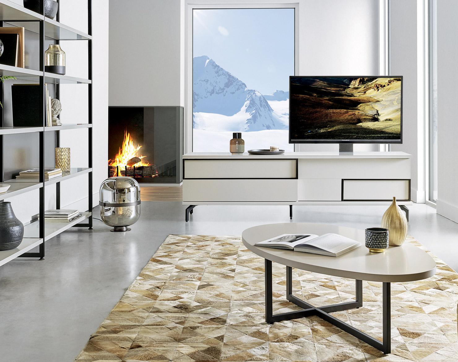 Mur De Rangement Salon choisir un meuble tv design et innovant pour votre intérieur
